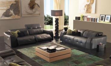 Canapé relaxation électrique en cuir - Modèle 894E