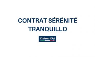 Contrat Sérénité Tranquillo contre les tâches ou accidents ménagers
