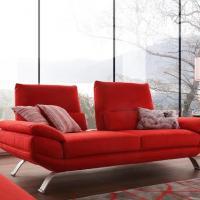 Canapé Avance / Recule en Cuir ou Tissu - modèle 2314