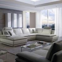 canap d 39 angle cuir avec chaise longue mod le 3820 marseille 13. Black Bedroom Furniture Sets. Home Design Ideas