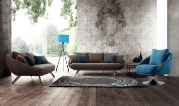 Un canapé cosy aux coussins accueillants - 2121