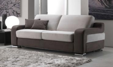 Canapé lit depliage quicklits tissu ou cuir