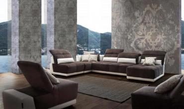 Canapé modulable moelleux et design - 3924