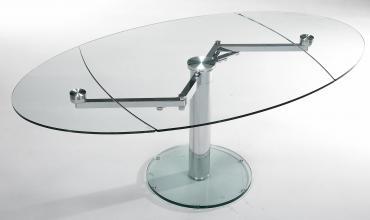 Table de salle à manger avec allonges EXTAND EDA CONCEPT