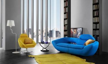 Salon confort au Design futuriste - Modèle 2708