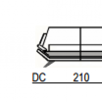 Dimensions canapé en cuir New Design ®