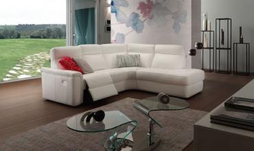 Canapé d'angle moelleux et accueillant - Modèle 377E