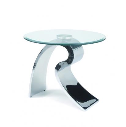 bout de canap verre et m tal design mod le robot chateau d 39 ax marseille 13. Black Bedroom Furniture Sets. Home Design Ideas