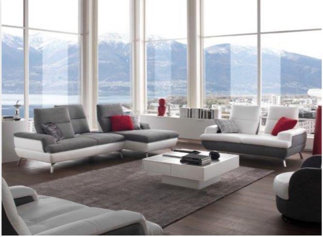 canap avance recule en cuir ou tissu plusieurs coloris au choix. Black Bedroom Furniture Sets. Home Design Ideas