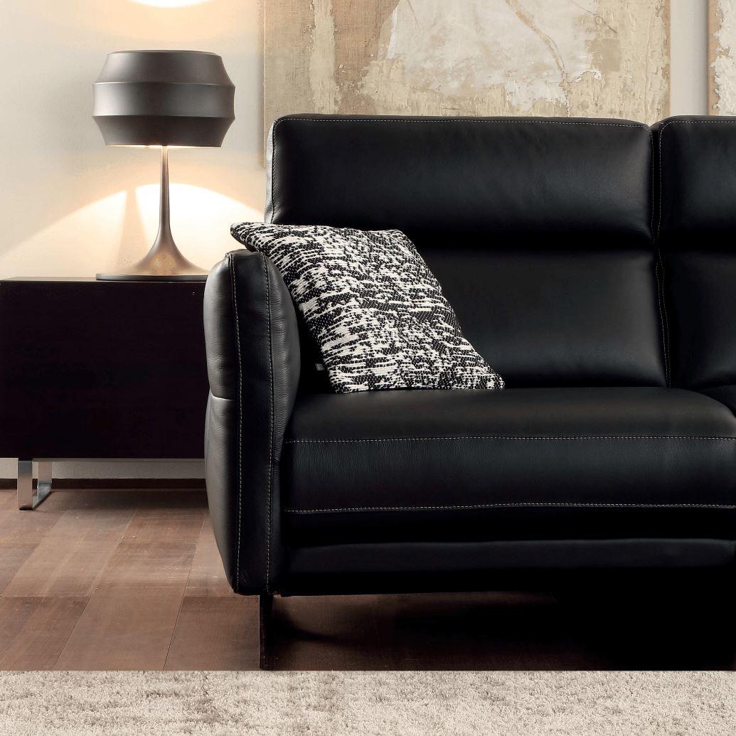 Canapé en cuir, le design avant tout - Modèle 257E ...