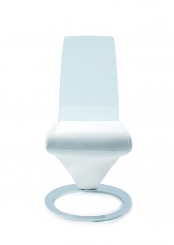 Chaise design plexiglas et simili eda concept chateau d for Chateau d ax table de salle a manger