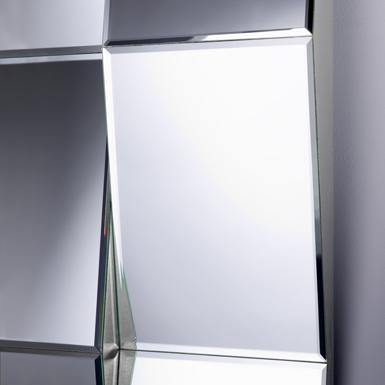 Miroir d co zigzag biseaut chateau d 39 ax marseille 13 for Miroir zig zag