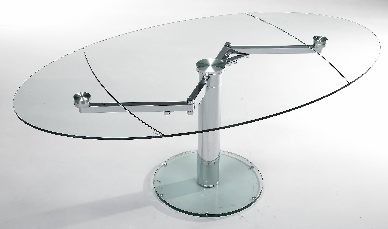 Table de salle manger avec allonges extand eda concept for Table de salle a manger en verre avec rallonge